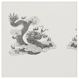 Asian Dragon Fabric