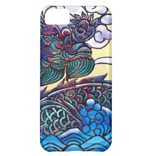Asian Dragon Medallion iPhone 5C Case