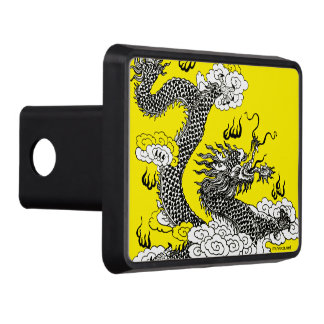 Asian Dragon Trailer Hitch Cover