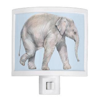 Asian Elephant Calf Night Lite