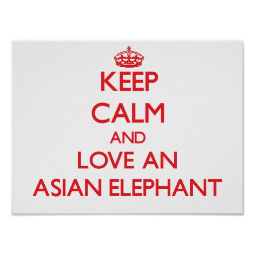 Asian Elephant Posters