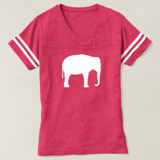 Asian Elephant Silhouette T-shirt