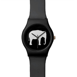 Asian Elephant Silhouette Watch