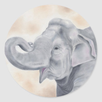 Asian elephant sticker