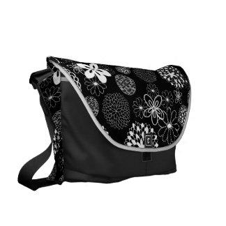 Asian Floral Messenger Bag