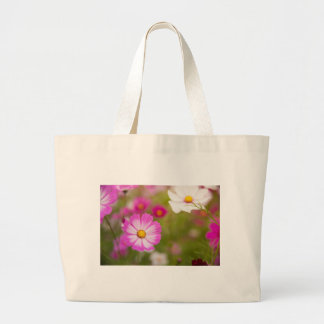 Asian flower large tote bag