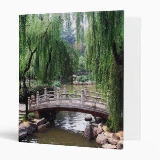 Asian Garden 1 3 Ring Binder
