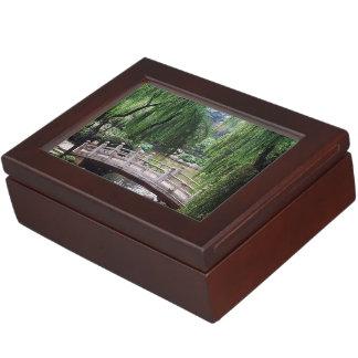 Asian Garden 1 Keepsake Box