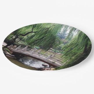 Asian Garden 1 Paper Plate