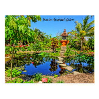 Asian Garden - Naples Botanical Garden Naples, FL Postcard
