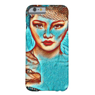 Asian Goddess Post Modernism Paint Portrait Barely There iPhone 6 Case