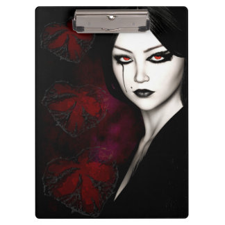 Asian gothic clipboards