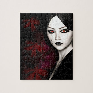 Asian gothic jigsaw puzzle