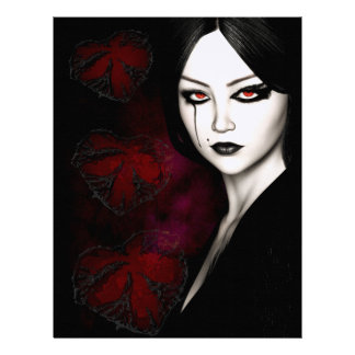 Asian gothic letterhead