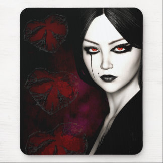 Asian gothic mouse pad