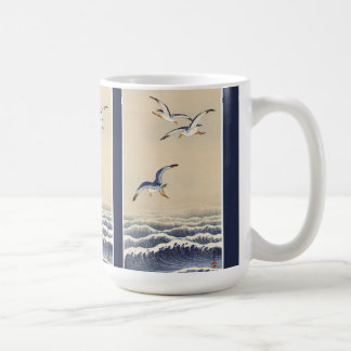 Asian Gull Birds Wildlife Ocean Waves Mug