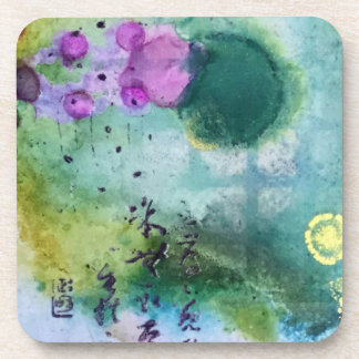 Asian-inspired coasters - set of 6