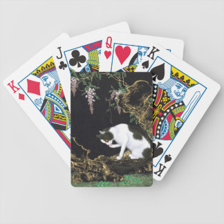 Asian Kitty Playing Cards