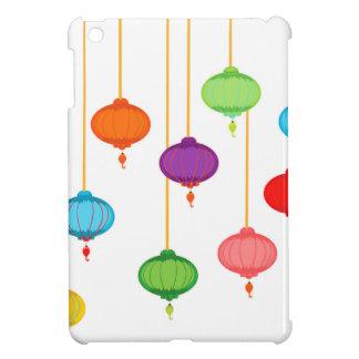 asian lanterns iPad mini cases