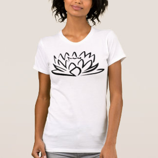 ASIAN LOTUS T SHIRT