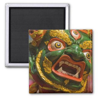 Asian Masked Dancer Magnet