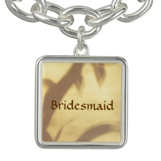 Asian Motif Bridesmaid Wedding Charm Bracelets