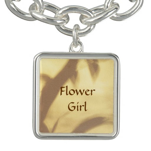 Asian Motif Flower Girl Wedding Bracelets