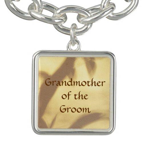 Asian Motif Grandmother of the Groom Wedding Bracelets