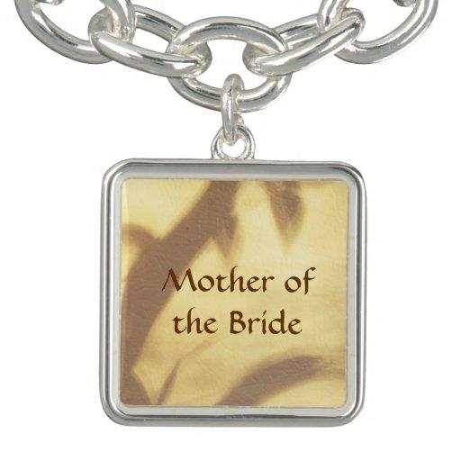 Asian Motif Mother of the Bride Wedding Bracelets
