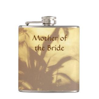 Asian Motif Wedding Mother of the Bride Hip Flask