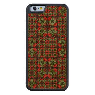 Asian Ornate Patchwork Pattern Cherry iPhone 6 Bumper Case