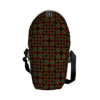 Asian Ornate Patchwork Pattern Commuter Bag