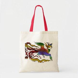 Asian Phoenix Tote Bag