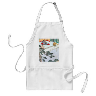 Asian Princess Standard Apron