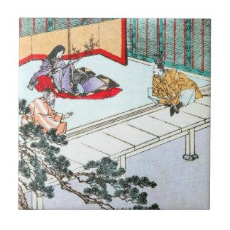 Asian Princess Tile