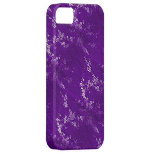 Asian Purple Silk iPhone 5 Case
