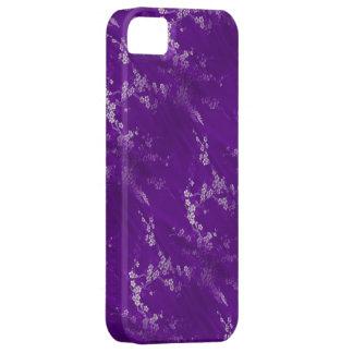 Asian Purple Silk iPhone 5 Case