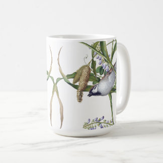Asian Seeds Birds Wildlife Wildflower Flowers Mug