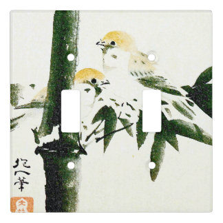 Asian Sparrow Birds Animals Light Switch Cover