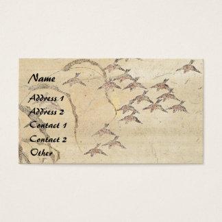 Asian Sparrow Birds Wildlife Business Card