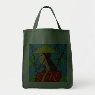 ASIAN SPICES GROCERY TOTE BAG