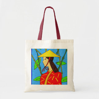 ASIAN SPICES BUDGET TOTE BAG