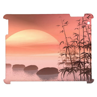 Asian steps to the sun - 3D render iPad Case