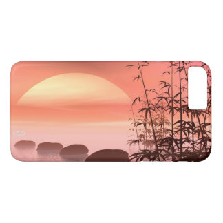 Asian steps to the sun - 3D render iPhone 8 Plus/7 Plus Case