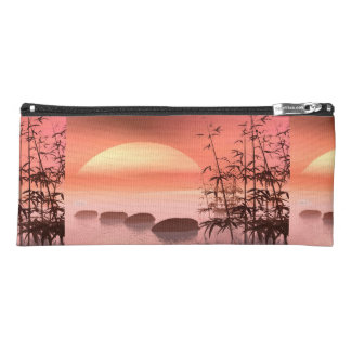 Asian steps to the sun - 3D render Pencil Case