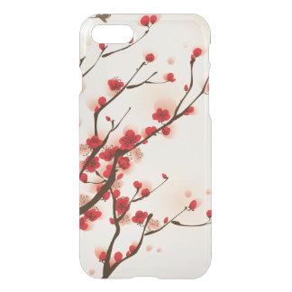 Asian Style Painting, Plum Blossom in Spring iPhone 8/7 Case