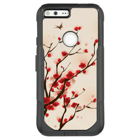 Asian Style Painting Plum Blossom in Spring OtterBox Commuter Google Pixel XL Case