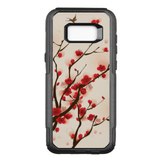 Asian Style Painting, Plum Blossom in Spring OtterBox Commuter Samsung Galaxy S8+ Case
