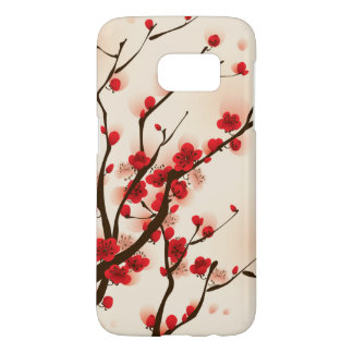 Asian Style Painting, Plum Blossom in Spring Samsung Galaxy S7 Case