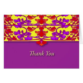 Asian Thank You Cards